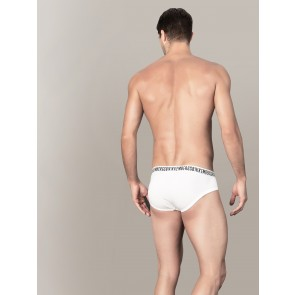 Stretch Cotton high waist Briefs Bikkembergs