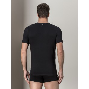 Stretch Cotton T-shirt Bikkembergs