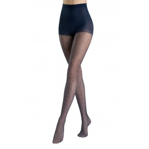 Tights Vivid-Polka Dot Sanpellegrino